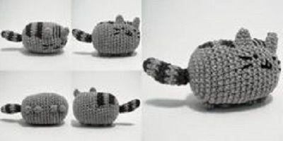 Фото - В'язаний кіт: схема з описом