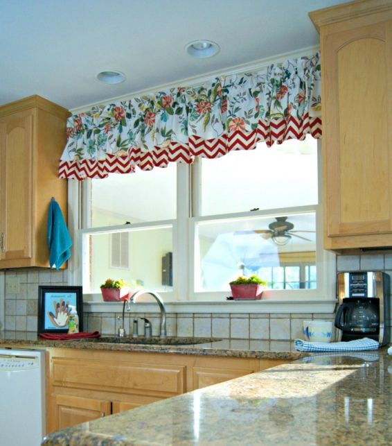 Фото - Викрійка штор своїми руками. Пошиття коротких кухонних штор