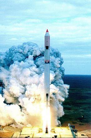 Випробування ракети